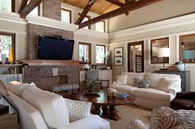 i have seen quite a few beautiful rooms where both the stained trim and white painted trim are used together