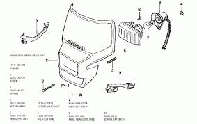 lighting honda xr650r parts service and repair headlight