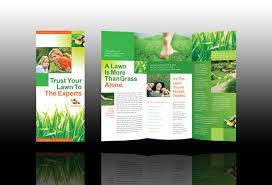 Lawn Care Brochure Lawn Care Brochure