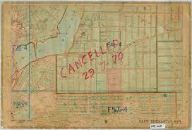 East Fremantle 1954 Vintage Map
