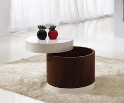 round coffee table with storage uk