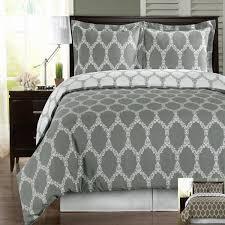 gray and white duvet cover set  sweetgalas