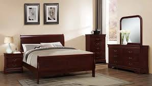 Louis Bedroom Furniture Louis Philippe Sleigh Bedroom Group By Furniture World Price