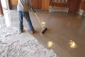 self leveling concrete for countertops superhuman toppings provide a shortcut to sharp look home ideas 44