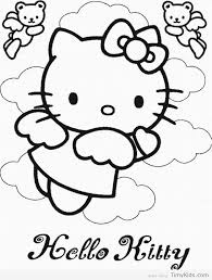 Free Kitty Coloring Pages At Getdrawingscom Free For Personal Use