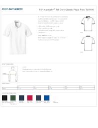 Port Authority Womens Shirt Size Chart Rldm