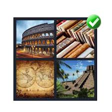 4 pics 1 word 7 letters level 6 Ancient