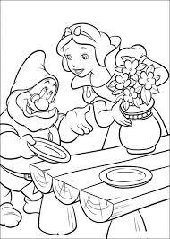Disegni Di Biancaneve Da Stampare E Colorare çizgi Film