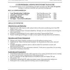 Lead Hand Resume Spectacular Resume Objectives Forehouse Workers About Good Objective 7