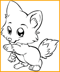 Coloring Pages Of Animals With Big Eyes Amazing Quickly Cute Eyed