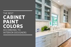 the best cabinet paint colors for a happier kitchen according to interior designers