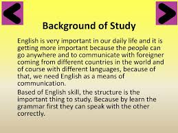 Design A Research Useful In Daily Life English Research Design Proposal Ppt Download