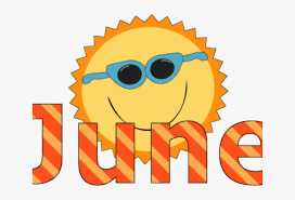 Sunshine Clipart June - June Clipart Transparent PNG - 640x480 - Free  Download on NicePNG