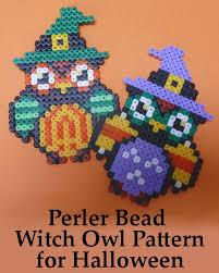 Halloween Perler Bead Patterns Delectable Halloween Perler Bead Patterns Holidappy