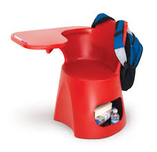 Q-Desk (Small) - Red for Kids