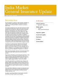 Pdf Tw India Market General Insurance Update July 2015