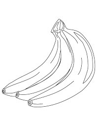 Small Picture Three banana coloring pages Download Free Three banana coloring