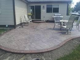 concrete patio designs. Interesting Designs Patio Patterns New Home Decor Stamped Concrete Floor  Ideas For Designs O