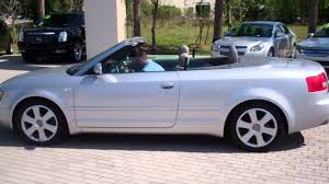 2006 Audi A4 Cabriolet - YouTube
