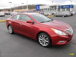 2011 Venetian Red Hyundai Sonata SE 2.0T #57609963 | GTCarLot.com ...