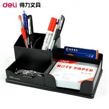 office pen holder. QSHOIC 9111 Pen Holder Multifunctional 23*13*9cm(1inch\u003d2.54cm) Deli Stationery Creative Fashion Office On Aliexpress.com | Alibaba S