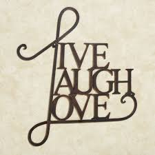 live laugh love word wall art antique copper touch to zoom