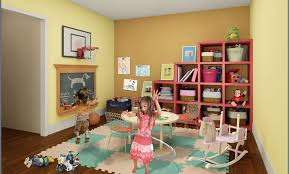 Office and playroom Colorful Source Longbrake Living Wordpresscom Den Office Playroom Inspiration Longbrake Living