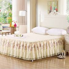 low profile bed skirt. Delighful Bed Pretty Floral Printing Bed Skirt And Low Profile I