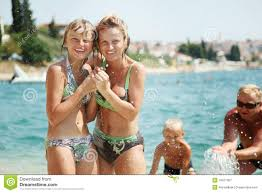 Family Beach Photos Happy Family On The Beach Royalty Free Stock Photography Image
