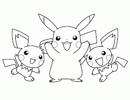 Pikachu Coloring Pages 1600 1227