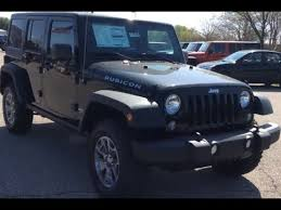 2018 jeep wrangler unlimited 4wd 4dr rubicon black four door jeep