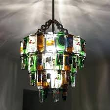 exotic recycled glass chandelier modern glass chandelier industrial antique diameter recycled factory light hanging ceiling light