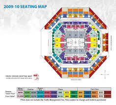Spurs Stadium Seating Chart Spurs Stadium Map San Antonio Spurs Stadium Map Texas Usa
