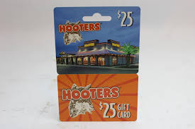 an image relevant to this listing hooters gift card