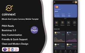 If you are searching for a bitcoin broker allowing you to trade on the go nearly as easily as at home. Nextcoin Bitcoin And Crypto Currency Mobile Template Pwa