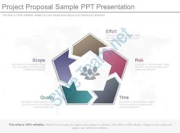 Project Proposal Presentation Ppt Project Proposal Sample Ppt Presentation Powerpoint Slide Images