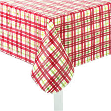 round vinyl tablecloths s es flannel backed 60 plastic with elastic