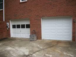 white wood garage door. Before And After White Wood Garage Door S