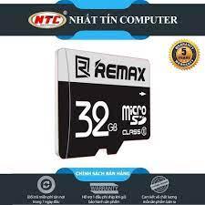 Thẻ nhớ MicroSDHC Remax 32GB Class 10 80MB/s - Bảo hành 5 năm (Đen) - Hãng  phân phối chính thức - Nhất Tín Computer