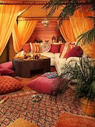 Living Room Decor Ideas ~ 18 Modern Moroccan Style Living Room Design Ideas  If I lived in a studio apartment, I would definitely go with a bohemian ...