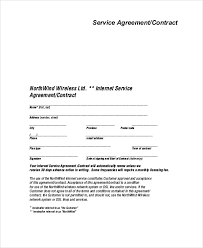 Service Agreement Samples Sample Service Agreement Contract 9 Examples In Word Pdf
