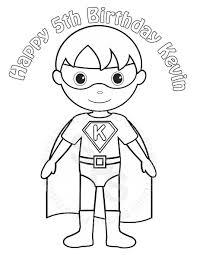 Superhero Coloring Pages Timykids Best 15 Best Kid Superhero