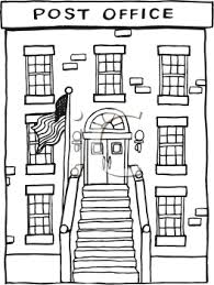 library building clipart black and white. Perfect And Clipart Post Office Building  ClipartFest Png Black And White Stock With Library Building Black And White K