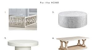 10 white coffee table round up a glad