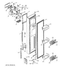 model search pss25ngmaww replacement parts by section assembly diagram