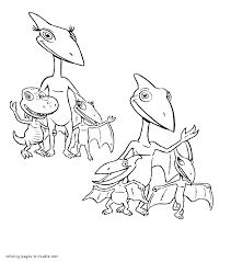 Small Picture All dinosaur family members coloring page