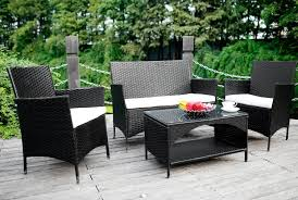 [Review] Merax 4-piece Outdoor Rattan Patio Furniture Set Review] - Cozy Home 101