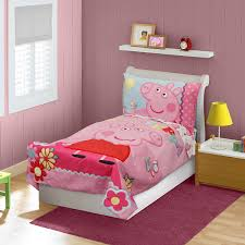 Peppa Pig Bedroom Stuff Amazoncom Peppa Pig Adoreable Toddler Bed Set Pink Baby