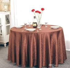 table cloth table cover round for banquet wedding party decoration tables satin fabric table clothing wedding