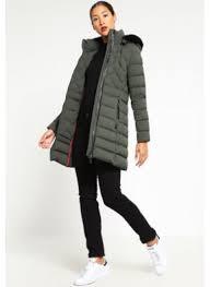 women s tommy hilfiger nikki down coat black green for 99 00